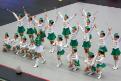 Добро представяне на малките ни мажоретки на международен турнир в Унгария