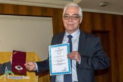 Д-р Пламен Китанов получи награда за принос в утвърждаване на авторитета на Лекарския съюз