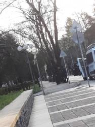 "Жандармеристи арестуваха шофьор на ""Хамър"" в центъра на Ботевград"