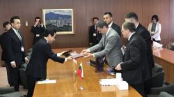 Възможностите на Правец в областта на високите технологии обсъждаха областният управител и кметът на Сапоро