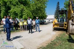 Направиха първа копка за подмяна на основния водопроводен пръстен в Ботевград