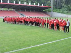Христо Стоичков се срещна с всички футболисти от академията в Етрополе