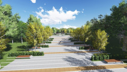 Проектът за реконструкция на парка включва площадка за скейтборд