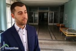 Общинският съветник Дамян Маринов съдейства за дарение на местната болница