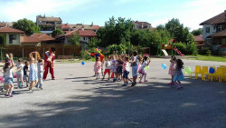 """Весел Първи юни в детска градина """"Синчец"""""""