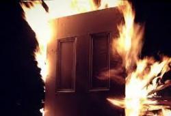 Запалиха къща в Литаково
