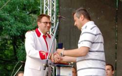 Константин Гайдарски е удостоен с почетна значка на Община Монтана