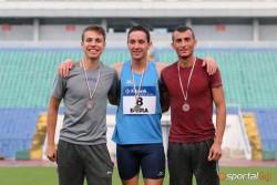 Сребърен медал за Николай Начев на 800 м