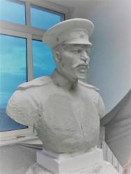 Първите снимки от проекта за изграждане на паметника на генерала от пехотата Павел Христов