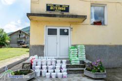 Съветникът Дамян Маринов съдейства с дарение за ремонта на детската градина във Врачеш