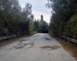 Дупките по пътя Боженица – Курново ще бъдат изкърпени