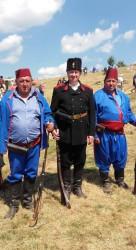 Трима етрополци взеха участие във възстановката на боевете на връх Шипка