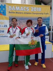 Балкански титли и медали за атлетите ветерани от Ботевград