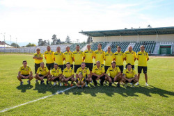 """БК """"Горна Баня"""" с жест към футболния отбор на Трудовец"""