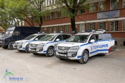 Три нови служебни автомобила за РУ Ботевград