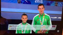 Втори златен медал за смесената двойка в Буенос Айрес!