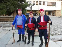 Трима етрополци участваха днес във възстановката по Освобождението на Тетевен от турско робство