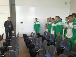 Баскетболисти (16-18) от Ботевград посетиха МВБУ в София