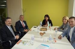 Илиан Тодоров се срещна с ректора и президента на Международното висше бизнес училище - Ботевград