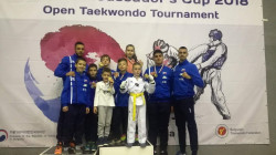 Сунг Ри с 8 медала от турнира за Купата на посланика на Корея