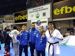 """6 медала за Сунг Ри от международния турнир """"Херея"""""""