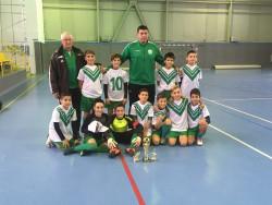 Малките футболисти на Балкан първи на Коледен турнир