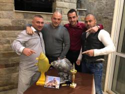 """Отборът """"Carp Team Oasis"""" взе първо място в състезанието """"Българска шаранджийска лига"""""""