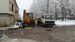 "Водопроводна авария на ул. ""Акад. Стоян Романски"""