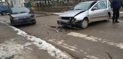 Три коли се удариха на кръстовище
