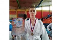 Венцислав Котов е първият  ботевградчанин с медал от карате