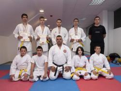 9 медала за каратистите от Ботевград на националния шампионат