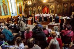 """Църквата """"Свето Възнесение Господне"""" се изпълни с миряни, дошли на тържеството за Благовещение"""