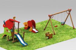 75 000 лева ще отпусне общината за нови съоръжения, необходими за  четири детски площадки