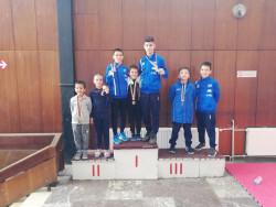 Сунг Ри Ботевград с 6 медала на Леон Оупън