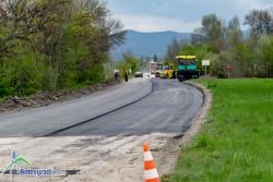 Започна асфалтирането на пътя Ботевград – Врачеш