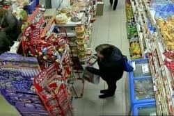 Разкрит e извършител на кражба от хранителен магазин