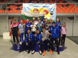 Сунг Ри с 15 медала от Херея Трофи