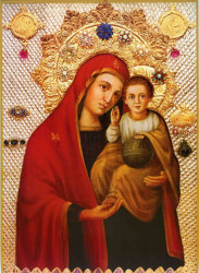 Историята с Чудотворния образ на Пресвета Богородица