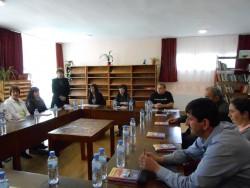 Скравена бе домакин на работна среща на читалищата в общината