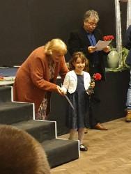 Десислава Младенска с трета награда от конкурс за Ботева и възрожденска поезия
