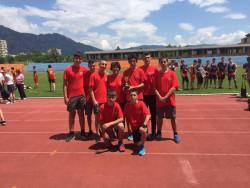 """Сребро на скок височина и шесто място отборно за """"Вапцаров"""" от Ученическите игри"""