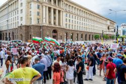 Кабелните оператори протестираха пред Министерския съвет