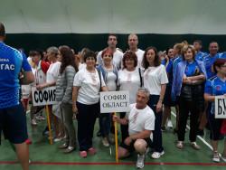 Учители от Софийска област се представиха достойно в XV Международна спартакиада на СБУ