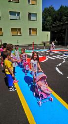 """ДГ""""Еделвайс"""" в Етрополе - с площадка по безопасност на движението по пътищата"""