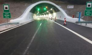 """На 16 юли шофьорите да се движат с повишено внимание в района на тунелите """"Витиня"""" и """"Топли дол"""" на АМ """"Хемус"""""""