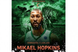 И Микейл Хопкинс подписа с Цедевита Олимпия