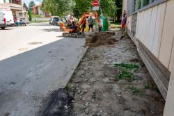 """Подменят тротоарната настилка по ул. """"Свобода"""""""