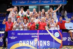 Сърцат български тим се изстреля до титлата на Европейското за жени U20!