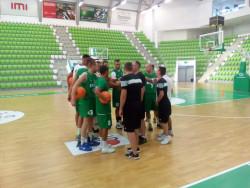 Баскетболният Балкан с първа тренировка