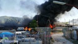 """Няма данни за пострадали хора при пожара в """"Никсметал"""""""